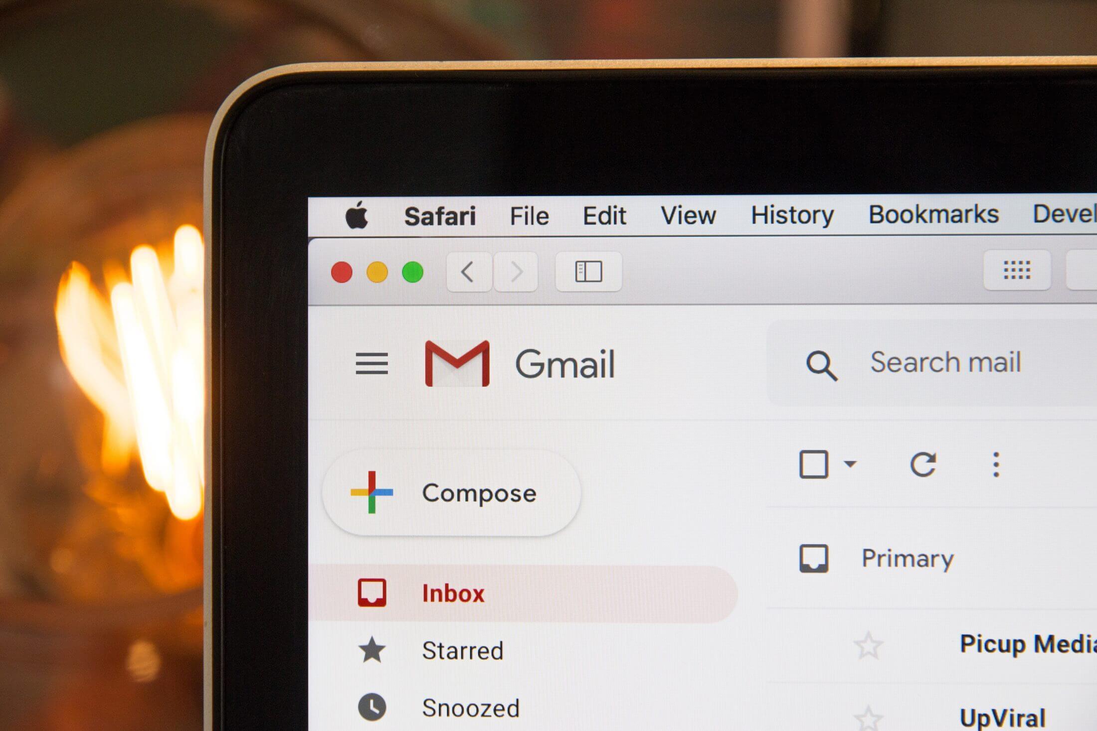 E-mailhandtekening met URL invoegen