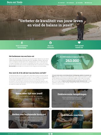 Conversie Website van Burnout Venlo