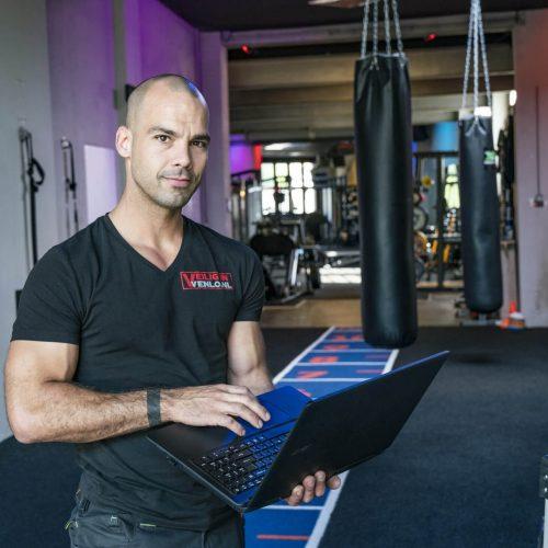 Veilig in Venlo Website laptop werkzaamheden